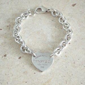'Return to Tiffany' Heart Tag Charm Bracelet